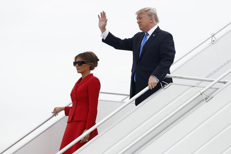 "The Latest: Macron says he, Trump agree on Syria roadmap - The headline varies every time I see the same version of this article, on Google News it reads ""Trump overheard complimenting Macron's wife,"" when I go directly to the Washington Post it reads ""Macron says he, Trump agree on Syria roadmap,"" as it does here, but on Facebook it reads ""A chaotic motorcade ride for reporters in Paris."" It seems the media is now tailoring the headline to each individual outlet, beyond just the…"