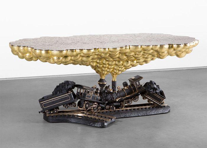 Genial Studio Job * Autobiographical Train Crash Table. Trendy FurnitureDesign ...