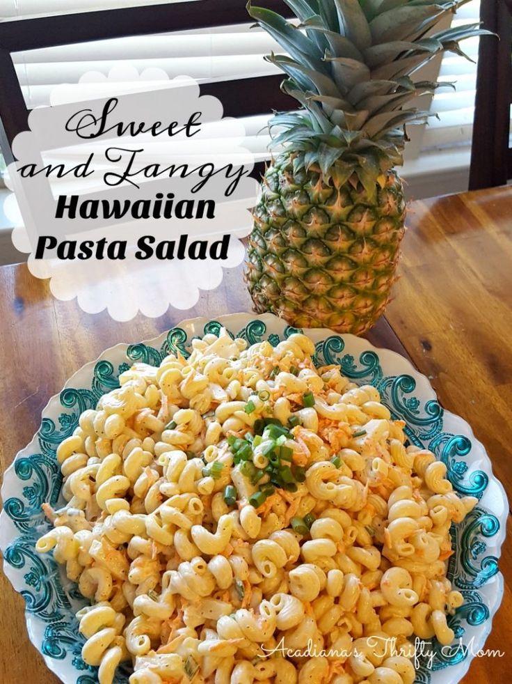 Sweet and Tangy Hawaiian Pasta Salad