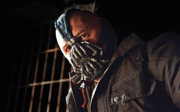 Tom Hardy As Bane | Tom Hardy as Bane in a scene from the 'The Dark Knight Rises.' Photo ...