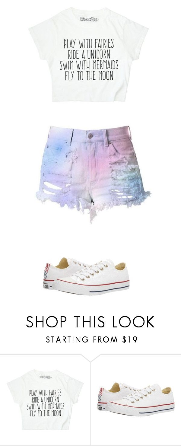 """magical"" by ottoca on Polyvore featuring Converse"