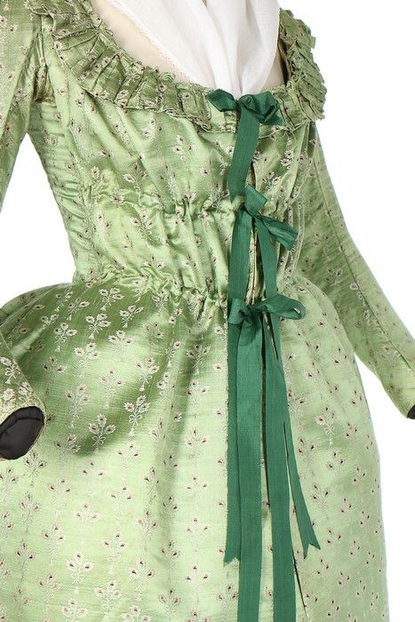 Maternity ensemble, 1790′s From Kerry Taylor Auctions