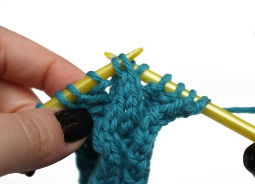 Knitting Cables Without Cable Needle : Cable knits and how to knit on pinterest