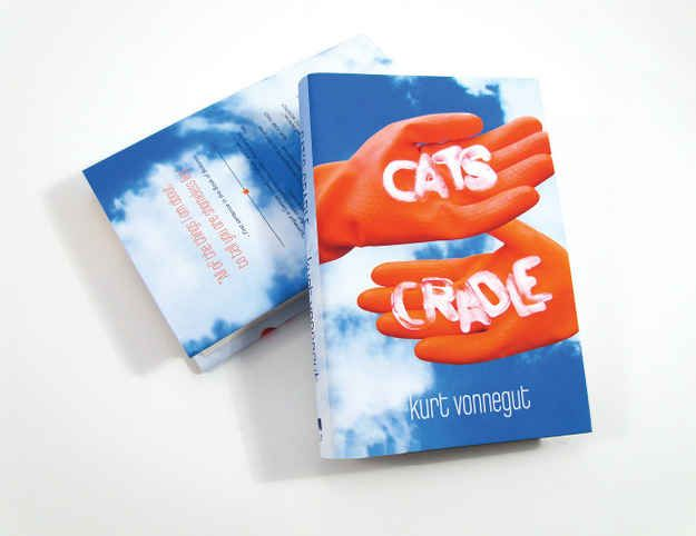 Cat's Cradle by Kurt Vonnegut. A story about Jonah writing a book about the inventor of the atomic bomb......you will have first row seats to the circumstances of power and what to do with it when you get it.
