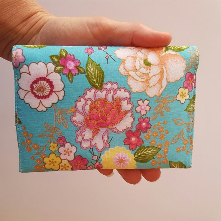 This beautiful passport wallet would make a lovely gift.