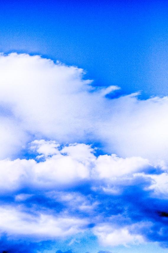 そらふぉとde雲の迫力を強調HDR