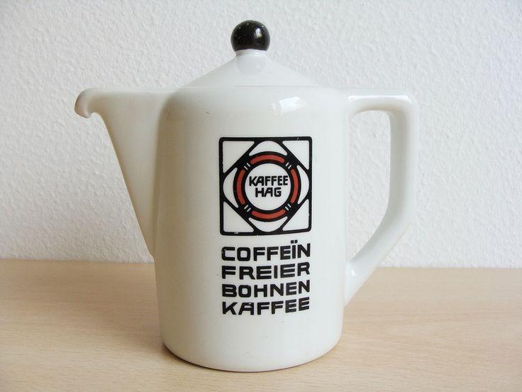 Vintage Kanne Kaffee Hag von Anbahner auf DaWanda.com