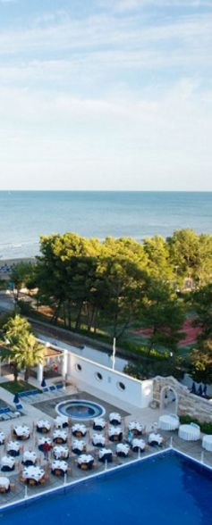 Da 693 euro a PERSONA per 7 GIORNI TRA RELAX E MARE da PIZZOMUNNO PALACE HOTEL***** a VIESTE!