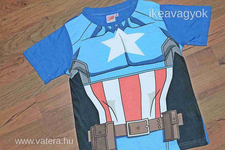Marvel Avengers Amerika kapitány   PÓLÓ  104-110 - Vatera.hu