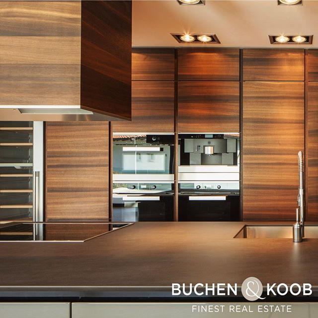 Kuche Ebenholz Edelstahl Contemporary Kitchen Design Contemporary Kitchen Modern Kitchen