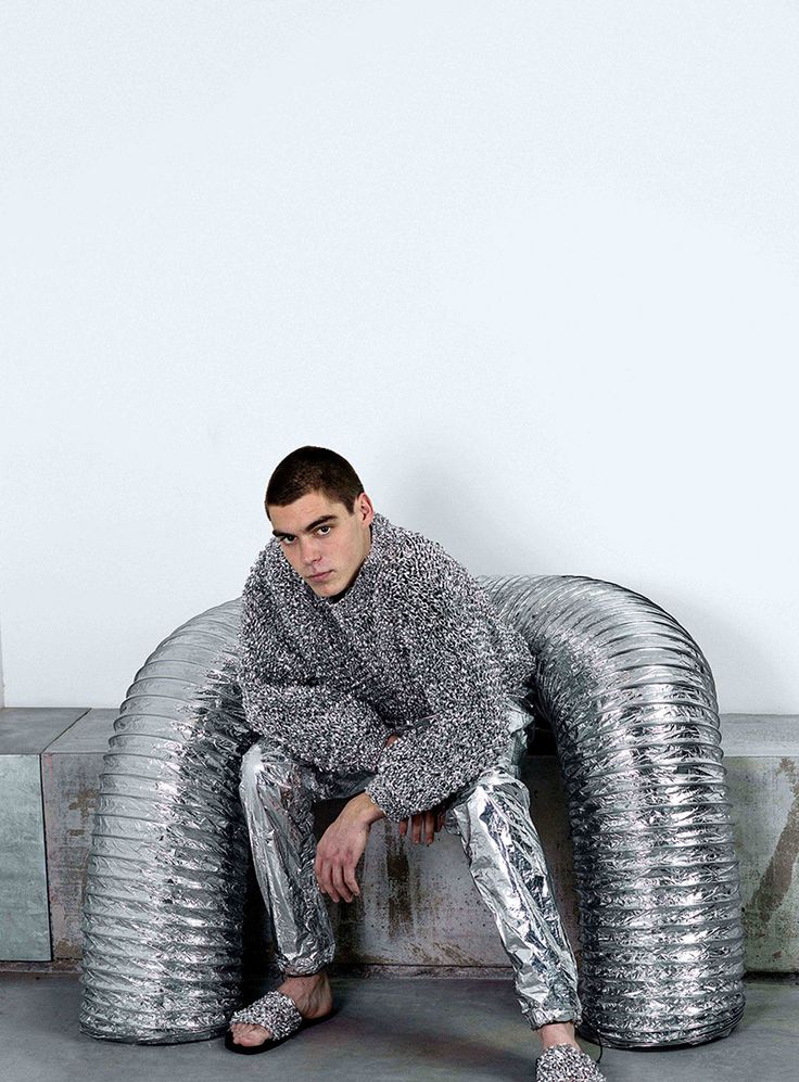 Space Age – by A.L.C.H. by Adriano B.for Fucking Young magazine