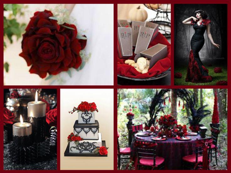 halloween wedding theme