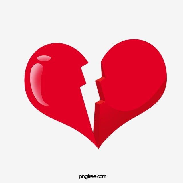 Heart Clipart Love Broken Breaking Up Breaking Up Broken Clipart Break Up Hand Drawn Heart Shaped Broken Heart Heart Poster Clip Art