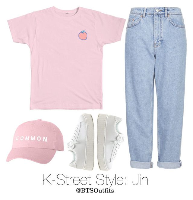 K-Street Style: Jin by btsoutfits on Polyvore featuring polyvore fashion style Boutique clothing
