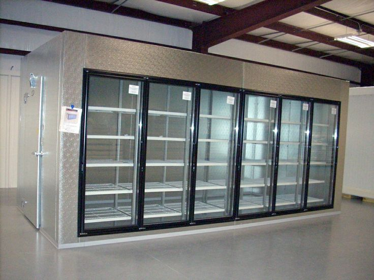 Walk In Display Coolers New Display Walk In Cooler With