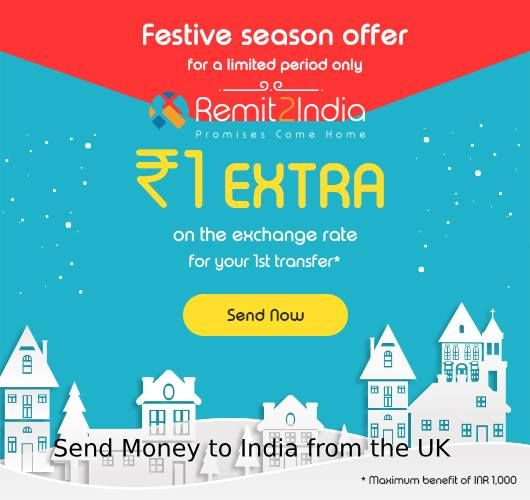 Money Transfer From Uk To India Instantly With Remit2india Get The Zero Fees And Best Possible Exchange Rates In A Safe