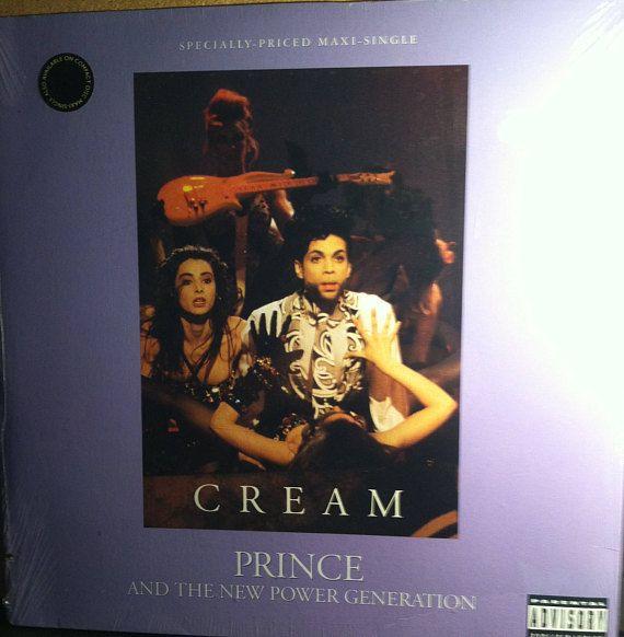 Prince Cream Sealed Funk Soul Vinyl Maxi Record Album