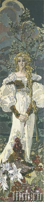 Врубель Михаил Александрович. Маргарита. 1896.