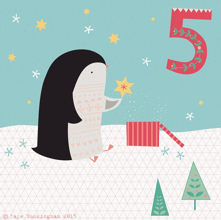 Day 5 Christmas Advent, by Faye Buckingham