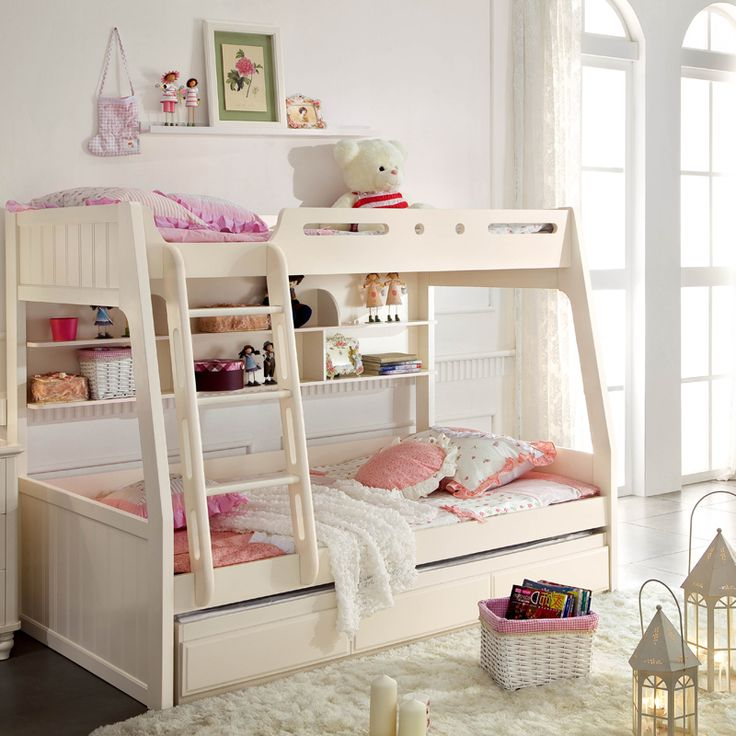 Korean countryside minimalist modern style bunk bed bed for Korean minimalist house