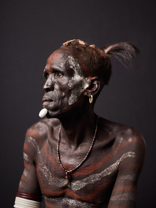 Portraits of People from the Lower Omo River Valley in Ethiopia by Joey L.