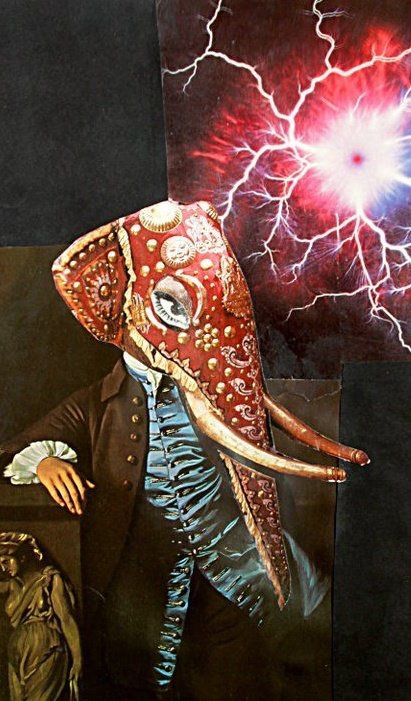 Visionary artwork, psychedelic art prints, contemporary collage art, and trippy movies by Larry...