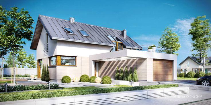 Projekt domu HomeKONCEPT 18 www.homekoncept.pl #projektdomu