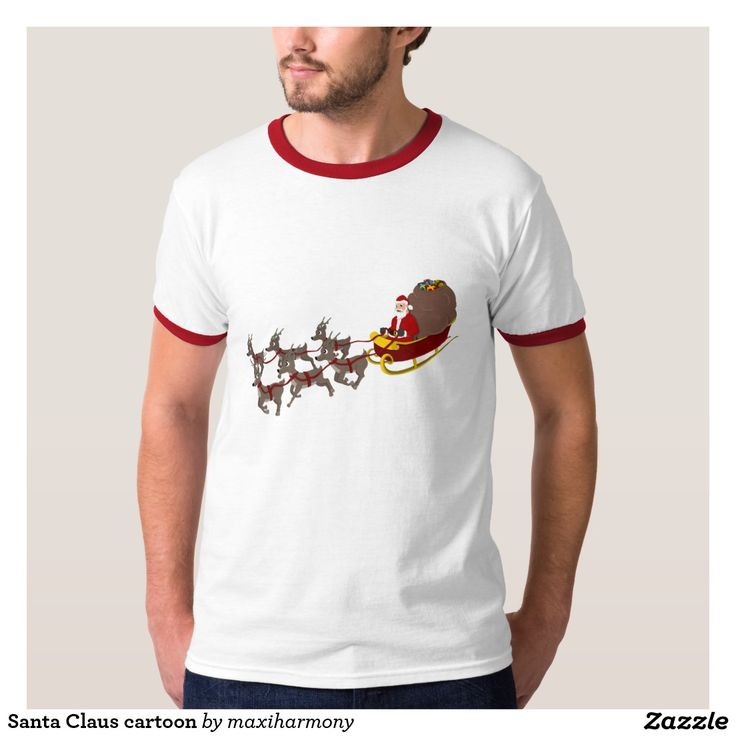 Santa Claus cartoon T-Shirt