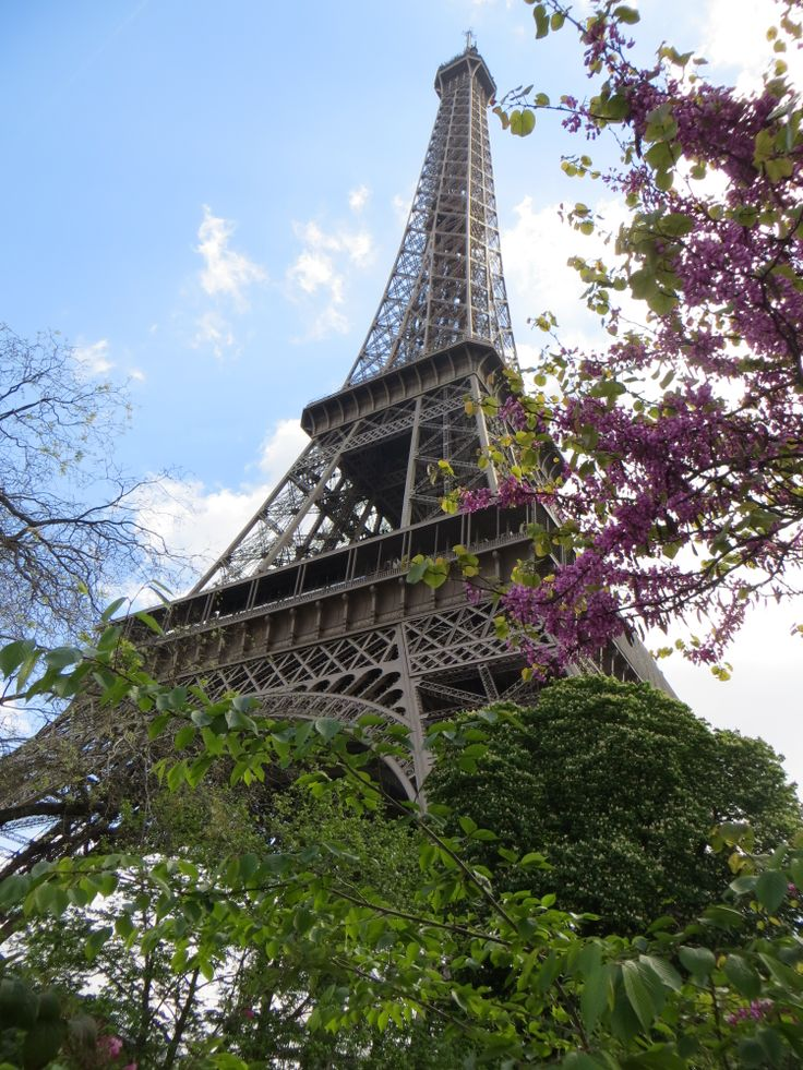 Pariisi, Eiffel-torni, huhtikuu 2014.