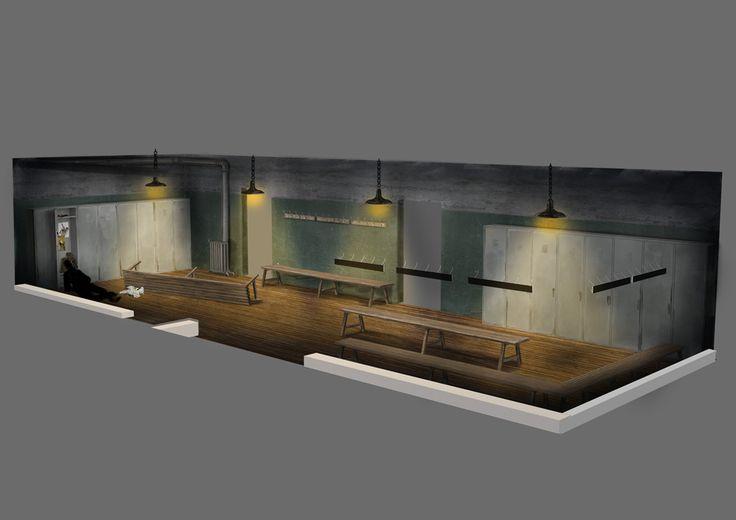 Project Discord - Indie Video Game ~ Locker Room