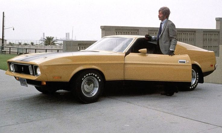"""""""Eleanor"""" the 1973 Ford Mustang Mach 1 from Gone in 60 Seconds (1974)."""