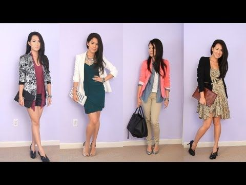 Tips on wearing blazers even when you're not headed to an interview. ▶ Styling Fall Blazer Jackets {Collab w/ Evelina Barry} - YouTube