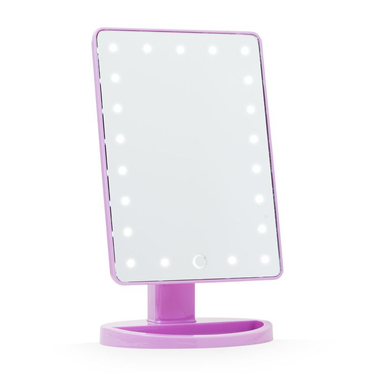 Touch 2 0 Dimmable LED Makeup Mirror in Glossy Sky Lilac. 17 best ideas about Led Makeup Mirror on Pinterest   Makeup light