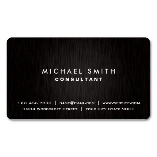 293 best black metal business cards images on pinterest black