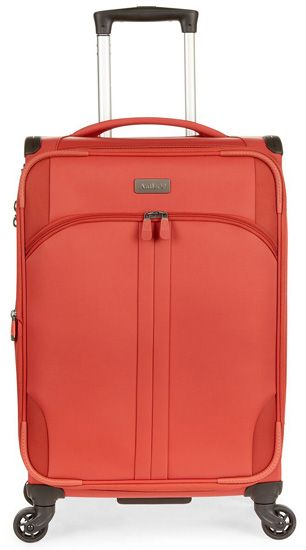 """Aire DLX 21"""" 4 Wheel Carry On - Tomato"": ""The Aire DLX 21"""" 4 Wheel Carry On from Antler is a lightweight yet durable spinner case…"