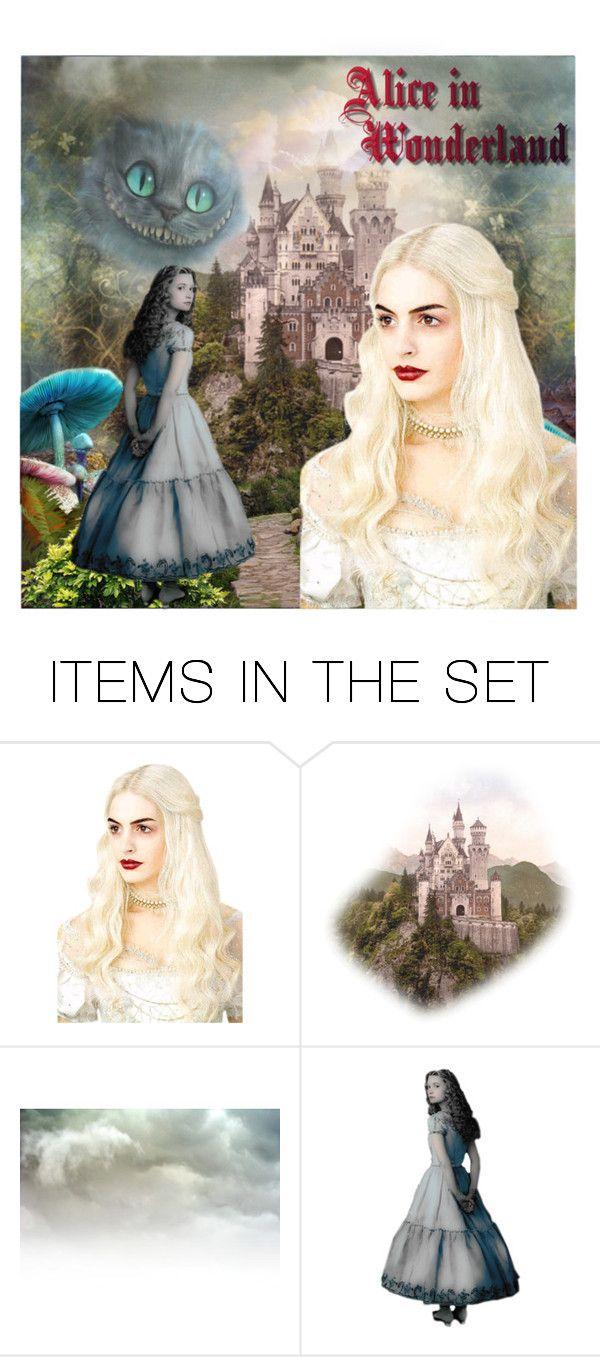 Alice in wonderland themed wedding dress  Alice Wonderland  Art  Expression  Alice and Polyvore