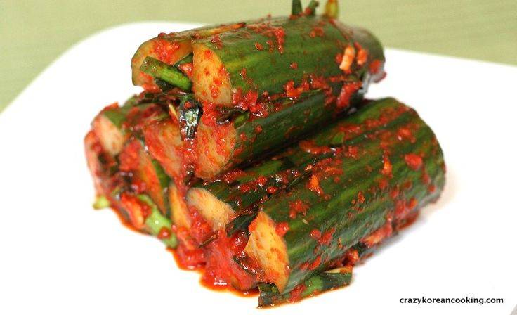 How to make Cucumber Kimchi, Oi Sobagi | Crazy Korean Cooking