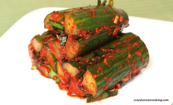 How to make Cucumber Kimchi, Oi Sobagi | Crazy Korean Cooking