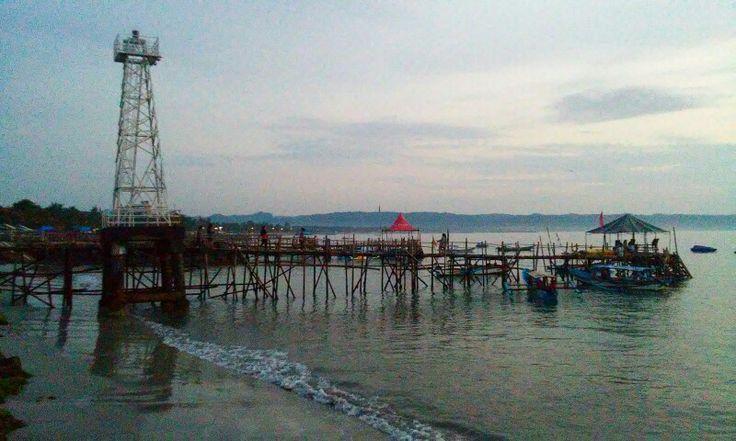 East coast, Pangandaran, West Java, Indonesia