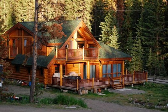 Cabin Big Cabin Dream House Pinterest