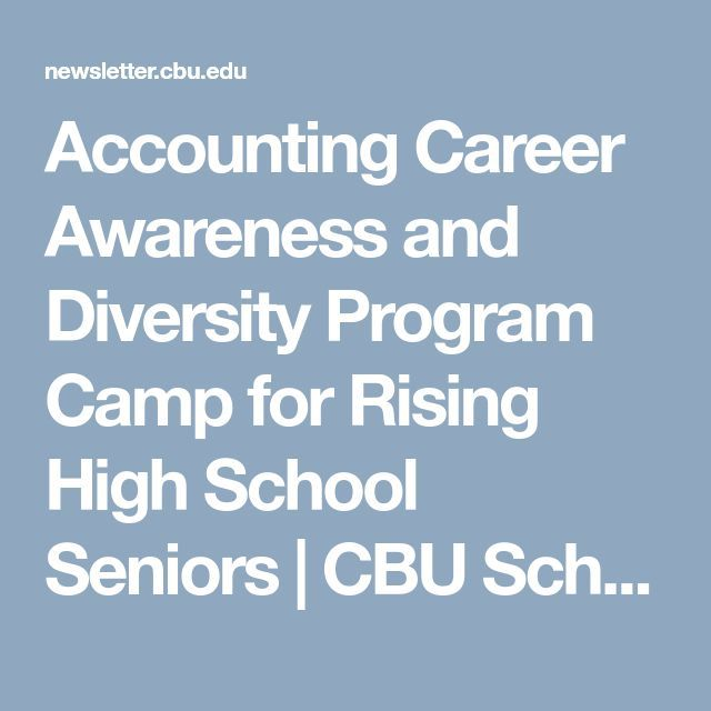 accounting as a career for high Accounting career day 2018 registration form there are no fees for this event, but space is limited if you have any questions, wish to register over the phone, or experience any difficulties registering, please call the careers in accounting team at (215) 496-9272 or email the following information to schools@picpaorg.