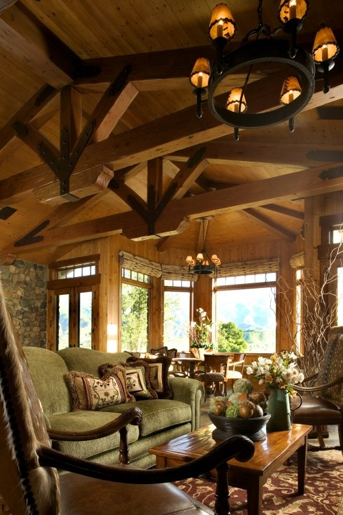 Mountain Home Living Room