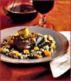Wine-Braised Veal Shanks Recipe from Food & Wine