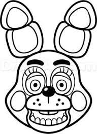 Image result for dibujos five nights at freddy's para colorear