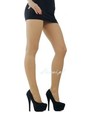 http://www.lamai.pl/14-rajstopy-wzorzyste-cienkie Cienkie rajstopy MARILYN ze szwem Flores B02 z szewkiem na boku - Sklep Lamai.pl