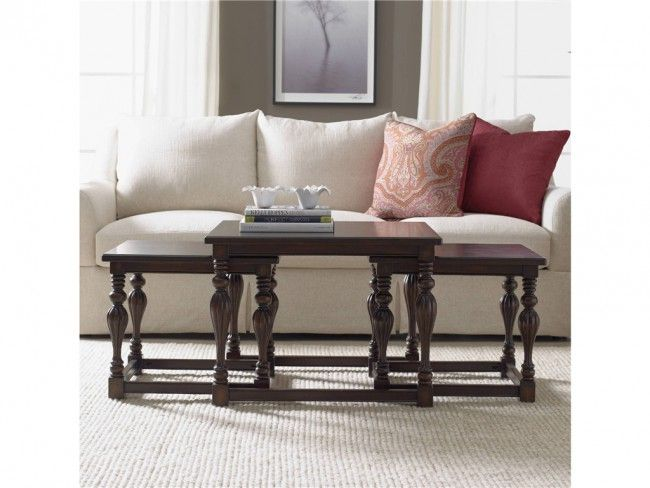 Hooker Furniture Coffee Table Part - 17: Hooker Furniture Seven Seas Square Nesting Cocktail Table Set