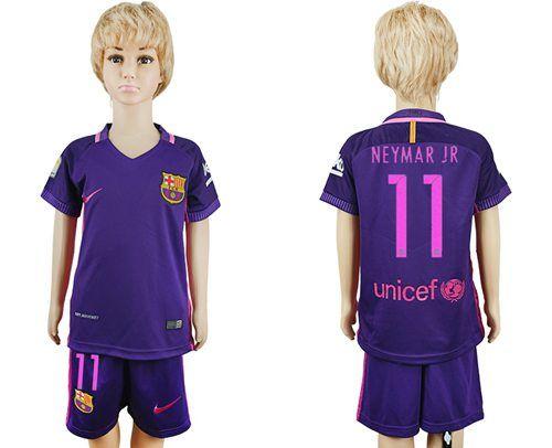 2e27ed698ce ... Long Sleeves Soccer Club Jersey from Reliable Barcelona C Barcelona  Neymar Jr Away Kid Soccer Club Jersey Camisetas De Futbol Barcelona Messi 10  ...