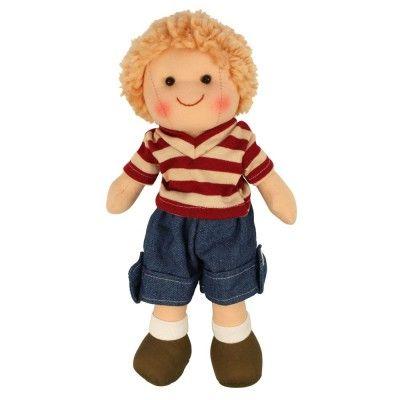 Bigjigs toys Látková bábika Harry - 25 cm