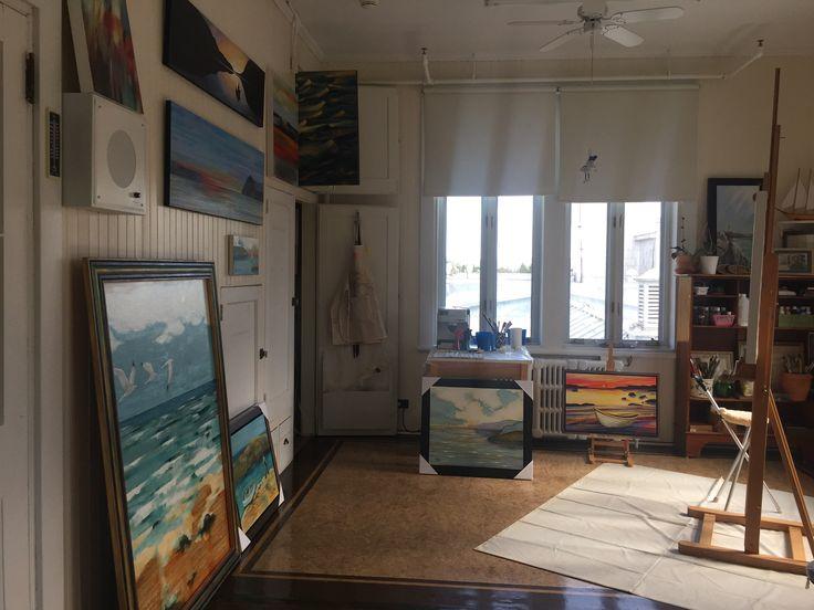 Mon studio à la Maison-Mère