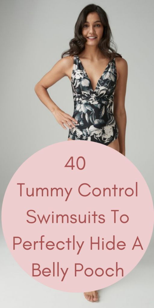 Look Skinny In 37 Slimming Swimsuits To Hide Belly Pooch